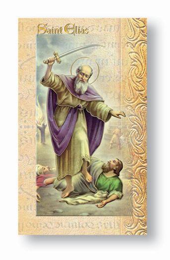 St. Elias Biography Card