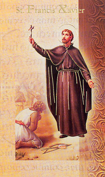 St. Francis Xavier Biography Card