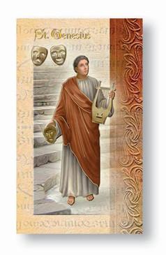 St. Genesius Biography Card