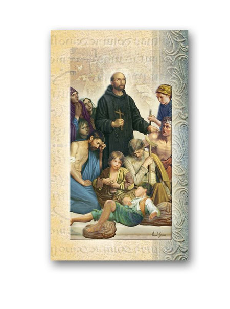 St. John of God Biography Card