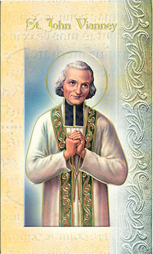 St. John Mary Vianney Biography Card