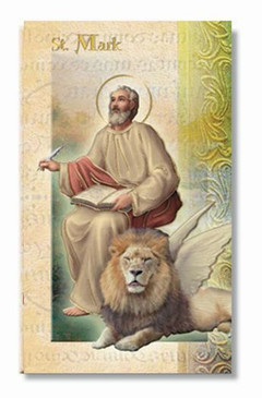 St. Mark the Evangelist Biography Card