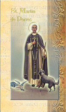 St. Martin de Porres Biography Card