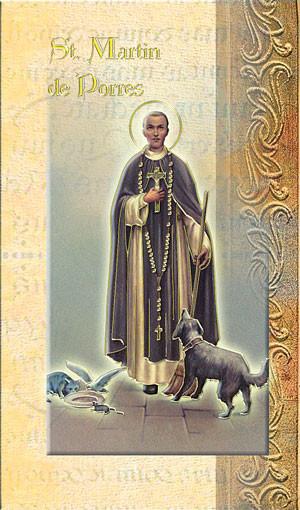 St. Martin de Porres Biography Card