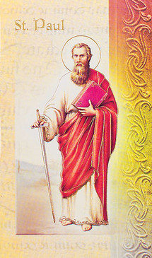 St. Paul the Apostle Biography Card