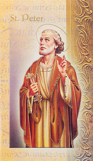 St. Peter the Apostle Biography Card