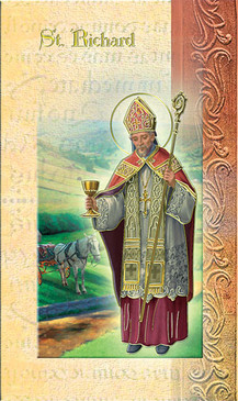 St. Richard Biography Card