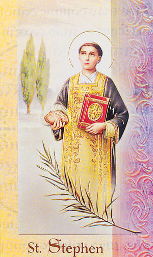 St. Stephen Biography Card