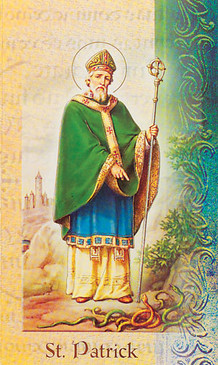 St. Patrick Biography Card