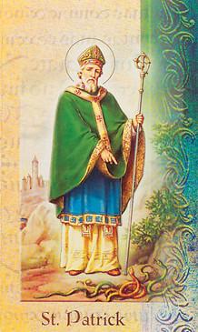 St. Patrick Biography Card