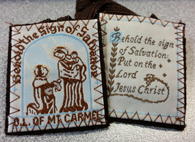 Washable Handmade Scapular