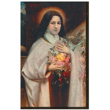 Therese Memorial Prayer Card (SLF-913)