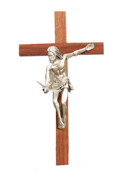 "8"" Walnut ""Gift of the Spirit"" Crucifix"