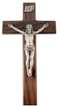 "Holy Shroud of Turin 8"" Crucifix"