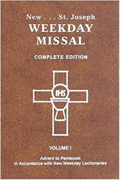 New... St. Joseph Weekday Missal - Complete Edition ( Volume 1 )