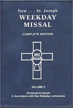 New... St. Joseph Weekday Missal - Complete Edition ( Volume II)