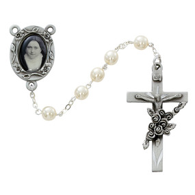 St. Therese Rosary Pearl