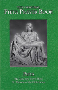 The Pieta Prayer Book - Large Print Green