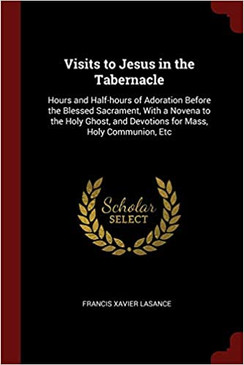 Visits to Jesus in the Tabernacle: Hours and Half-hours of Adoration Before the Blessed Sacrament, With a Novena to the Holy Ghost, and Devotions for Mass, Holy Communion, Etc Paperback