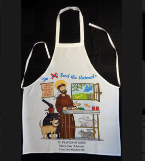 St. Francis of Assisi Apron