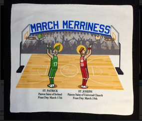 March Madness Microfiber Towel