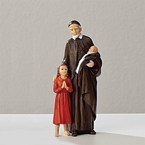 "St. Vincent de Paul Statue (3.5"")"
