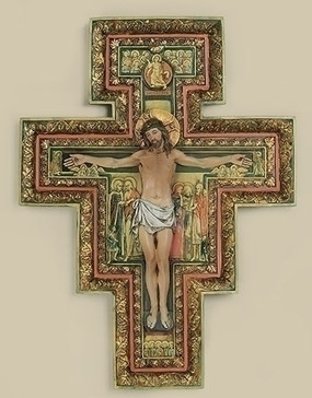 "San Damiano Cross (17.75"")"