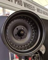 """STREET PRO 007 Autodrag Wheel - Early Holden Pattern 15x8.5"""" - 5"""" BS BLACK"""
