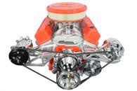 ICT Sanden 508 A/C Compressor/Alt/PS Pump Bracket kit - Small Block Chevrolet