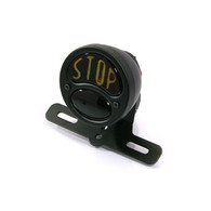 TLG Vintage Ford Style Round Taillight - Black