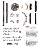 DUPLEX Timing Chain Conversion kit suit Nissan YD25