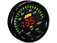 AEM 30-0307 X-Series Oil Pressure Digital Gauge - 0~150psi / 0~10bar