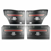TLG Reproduction Ford XW GT Falcon Black Door Trims - Set of 4