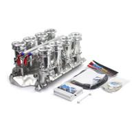 TLG Holden EFI 5L Downdraft Trumpet Intake Manifold Kit WITH ECU