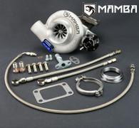 MAMBA GTX Oil-Cooled Turbo For Nissan TD42 - TD05H-18G 6cm Bolt-On HIGH MOUNT kit