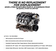 GM PERFORMANCE LS7 Crate Motor - 427CI/505HP