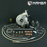 MAMBA Bolt-on Ball-bearing Turbo - TOYOTA 1JZ-GTE JZX100 GT3076R .86AR Rear
