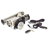 """PROFLOW Electric Exhaust Cut Out Series II Remote 2.5"""""""