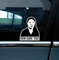 "TLG ""How dare you"" Greta Thunberg sticker"