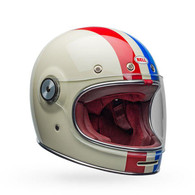 BELL Bullitt Command Vintage Helmet - Red/ White/ Blue