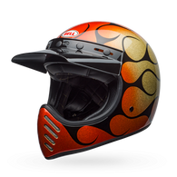 BELL Moto 3 - Chemical Candy Flames Orange