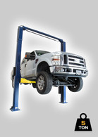 TLG 2 Post Hoist – 5 Ton – Clear Floor Model