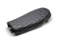 TLG Diamond Stitch SCRAMBLER Seat - BLACK