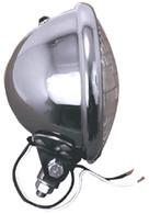 "PAUGHCO 5 3/4"" Headlight - HARLEY OR CUSTOM USE"
