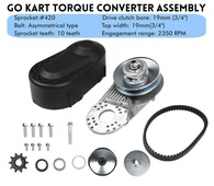 TLG Deckson/Deltek/Minibike/Go-Cart Torque Converter Clutch System
