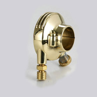 "KUSTOMTECH Deluxe External Throttle - POLISHED BRASS - 1"" Bars"