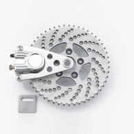 KUSTOMTECH Chopper Sprocket/Brake Kit - POLISHED