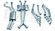 EMPIRE Holden Commodore (1997-2007) SS Sedan Engine-back Exhaust System - Twin 2.5""