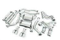 """EMPIRE Holden Commodore (2007-2015) VE / VF SS UTE Twin 3"""" Stainless Catback Exhaust System"""