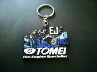 TOMEI Silicone Rubber Key Chain - Subaru EJ